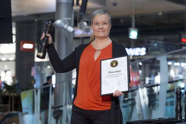 Vuoden Välipala -palkinto Valion jogurteille ja Play-rahkoille.