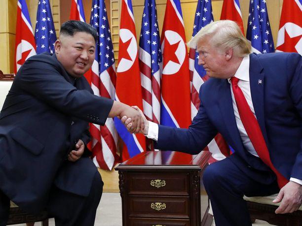 Pohjois-Korean johtaja Kim Jong-un ja Donald Trump tapasivat viimeksi kesäkuussa.