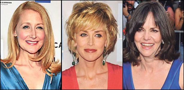 Patricia Clarkson, Sharon Stone ja Sally Field tietävät, että kirkkaat värit saavat aikuisemmatkin kasvot hehkumaan.