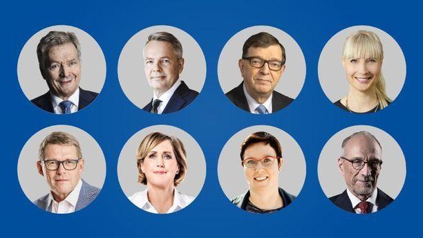 Presidenttiehdokkaat kohtaavat tänään viimeisen kerran ennen varsinaista vaalipäivää Ylen tentissä. Tentti alkaa kello 21.05.