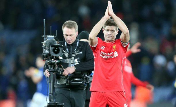 Kapteeni Steven Gerrard on todennäköisesti tänään huilivuorossa Valioliigassa.
