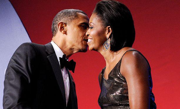 Barack ja Michelle ovat olleet naimisissa jo 25 vuotta.