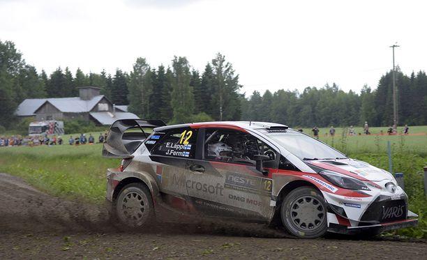 Esapekka Lappi otti WRC-uransa avausvoiton viime viikon MM-rallissa.