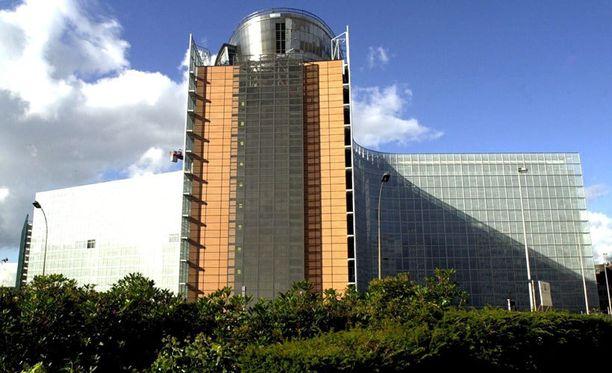 Euroopan komission päämaja Berlaymont sijaitsee Brysselissä.