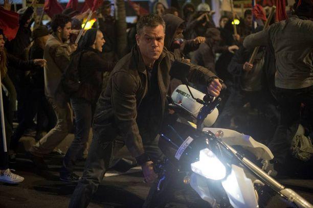 Matt Damon palasi takaisin Jason Bournen rooliin.