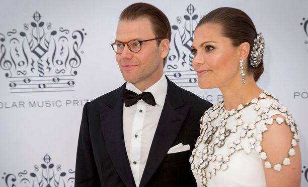 Prinssi Daniel ja kruununprinsessa Victoria olivat kesäkuussa The Polar Music Prize -gaalassa Tukholmassa.
