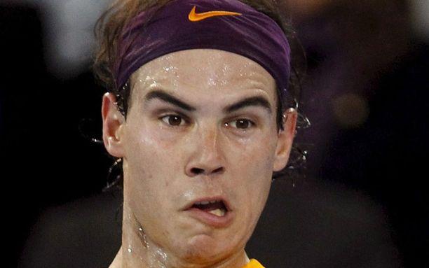 Rafael Nadal oli tänä vuonna tulessa.