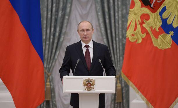 Putin ei paljasta päämääriään.