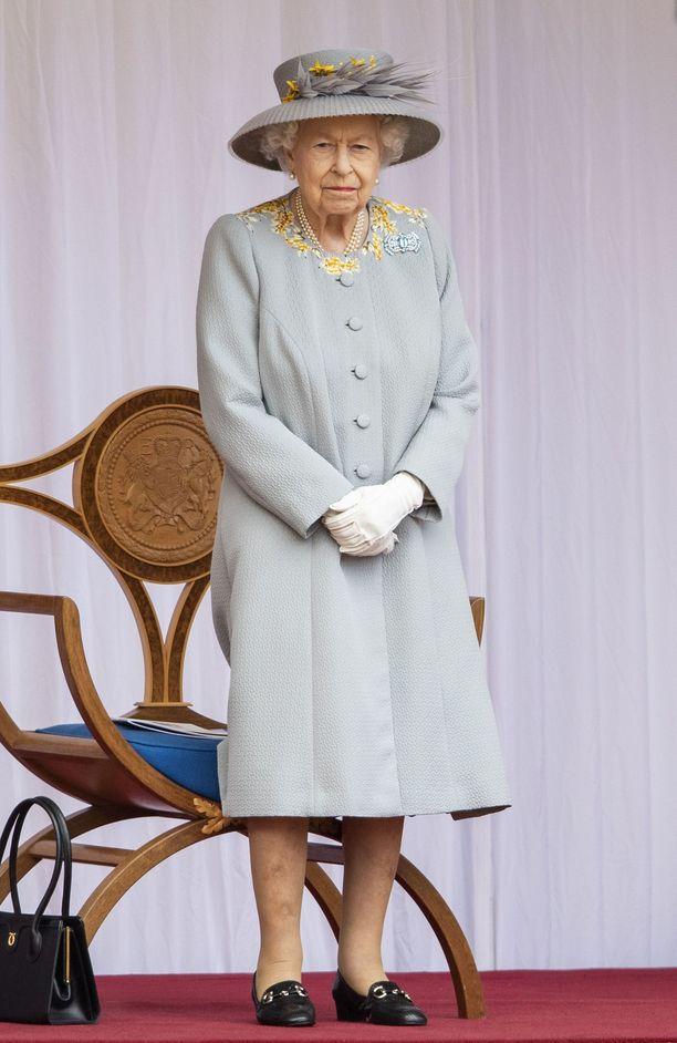 Kuningatar Elisabet vietti kesäkuussa 95-vuotissyntymäpäiviään tuoreena leskenä. Juhlat olivat pienimuotoiset pandemian takia.
