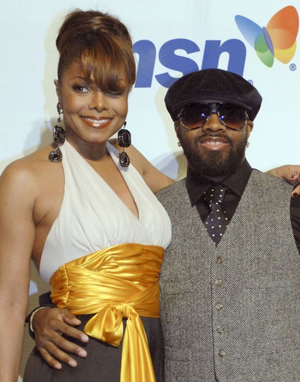 RAKASTUNUT. Janet Jackson tapasi kuutisen vuotta sitten elämänsä rakkauden Jermaine Duprin.