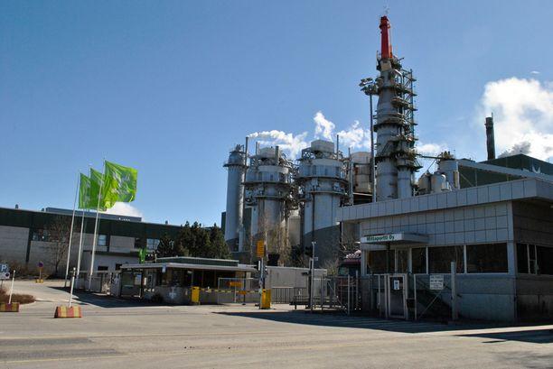 Äänekosken sellutehtaan alueelle nousee uusi biotuotetehdas.