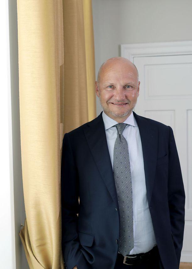 Työ- ja elinkeinoministeriön kansliapäällikkö Jari Gustafsson.