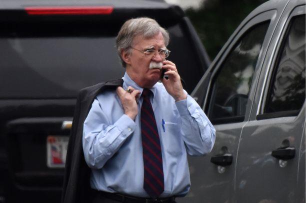 John Boltonin mukaan USA pyrkii estämään Iranin vahvistumisen Lähi-idässä.
