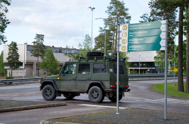 Toinen tartuntaketju alkoi Säkylän varuskunnasta. Tämä kuva on vuodelta 2012.