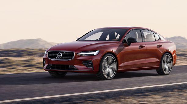Uusi Volvo S60 rullaa Suomeen ensi vuoden puolella.