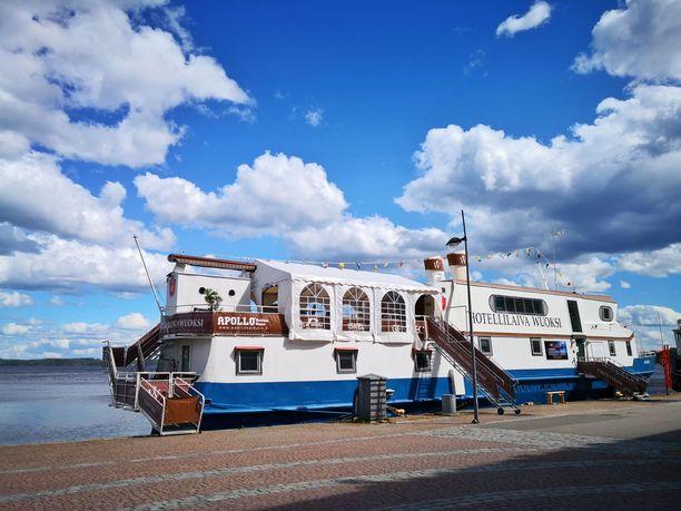 Kuopion matkustajasatamasta löytyy Euroopan pohjoisin vuoden ympäri toimiva hotellilaiva.