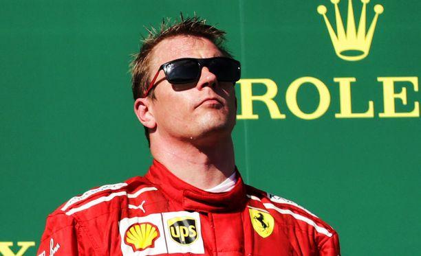 Kimi Räikkönen pysyi kylmänviileänä, vaikka kisa meni ilman drinkkejä.