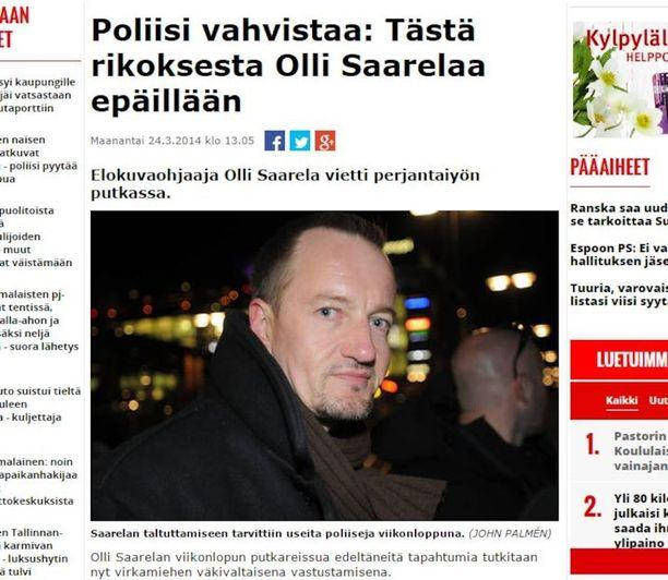 Tämä Iltalehden uutinen johti tutkinnanjohtajan sakkotuomioon.