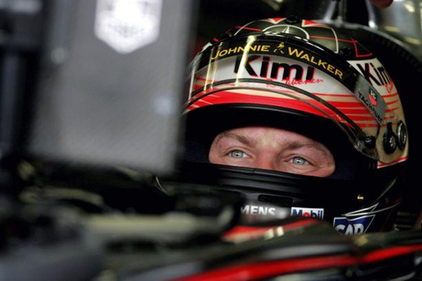 Kimi Räikkönen jäi yhdenneksitoista.