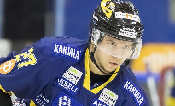 Mika Partanen ampui Jukurien voittomaalin.