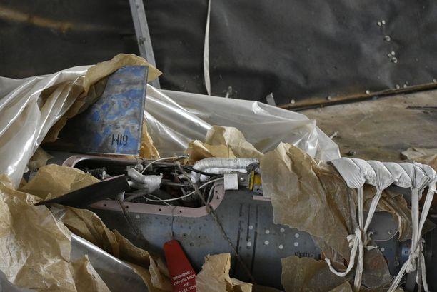 Itä-Mosulista on löytynyt lukuisia rakettivarastoja, joissa on Isisin omatekemiä aseita.