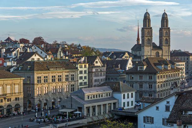 Syytetty mies on kotoisin Zürichin kantonista.