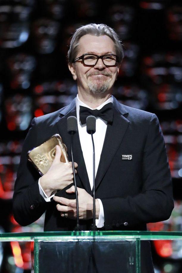 Gary Oldman on voittanut jo lukuisia palkintoja tänä vuonna roolistaan Britannian entisenä pääministerinä.