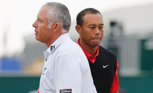 Adam Scottin mailapoikana nykyään toimiva Steve Williams kohtasi Tiger Woodsin Open Championshipissä kesällä.