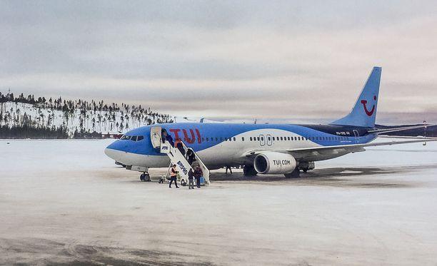 TUI:n lennolla on jälleen ongelmia. Kuvituskuva.