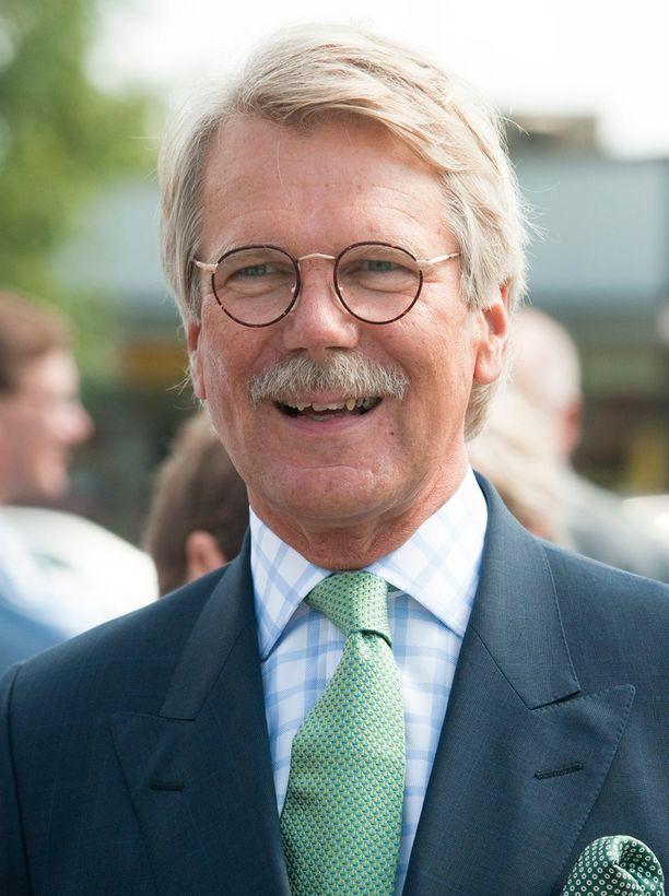 """Sampo-konsernin suuromistaja Björn """"Nalle"""" Wahlroos muutti kirjoille Ruotsiin viime vuonna."""