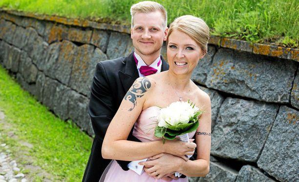 Miia ja Olli ovat käyneet kesän aikana muun muassa Islannissa.