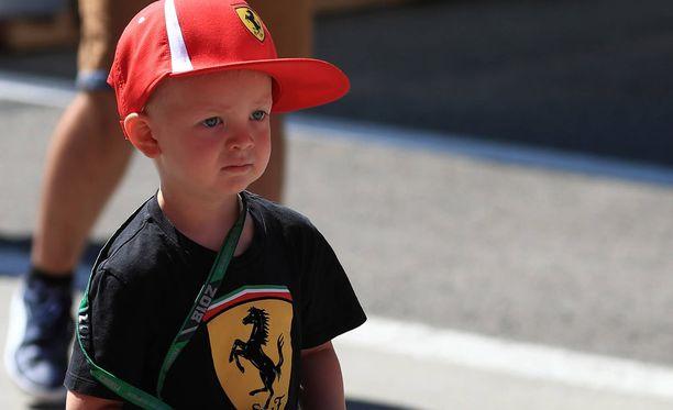 Robin Räikkönen sai paljon ruutuaikaa Unkarissa.