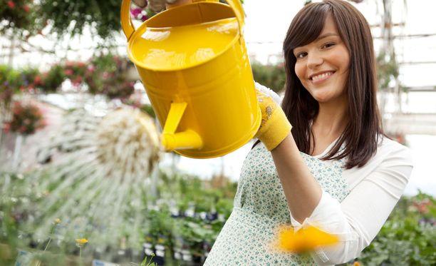 Puutarhanhoito antaa iloa ja terveyttäkin.