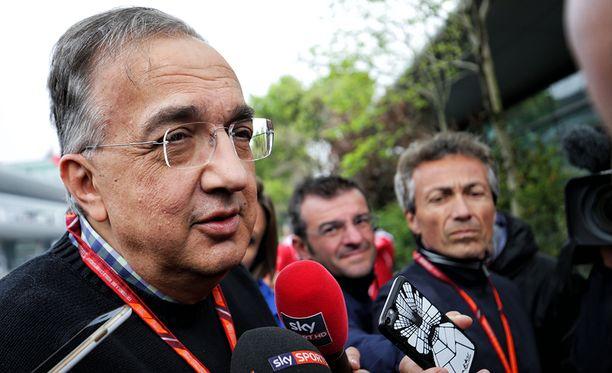 Sergio Marchionne myhäili tyytyväisyyttä La Repubblican haastattelussa.