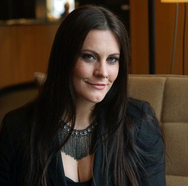 Nightwishin tuore vahvistus, hollantilainen Floor Jansen.