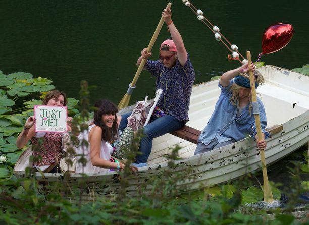 Luonnonläheistä menoa Wilderness Festivalilla.