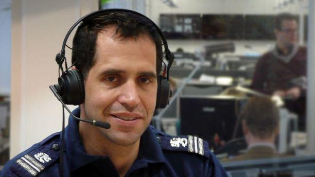 Poliisin liikenneturvallisuuskeskuksen johtaja, ylikomisario Dennis Pasterstein tietää omistavansa saunan.