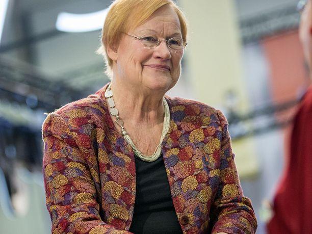 – Kaikilla on oikeus ruumiilliseen koskemattomuuteen, sanoo presidentti Tarja Halonen.