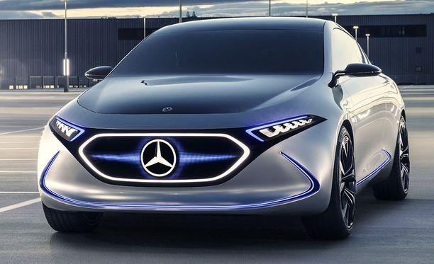 EQC-täyssähköauton valmistus aloitetaan Saksassa ensi vuonna.