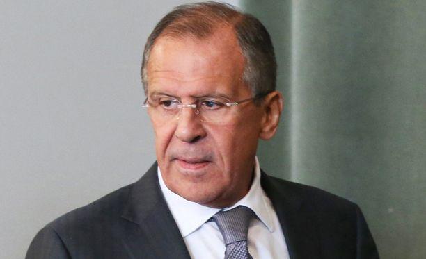 Venäjän ulkoministeri Sergei Lavrov vaihtoi roolia pahiksesta sovittelijaksi.