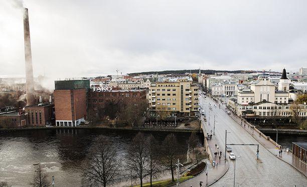 Tampere on vetovoimaisin kaupunki.