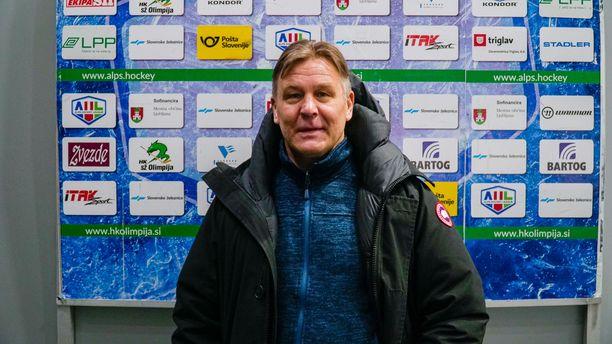Raimo Summanen ryhtyi tammikuussa Olimpija Ljubljanan päävalmentajaksi.