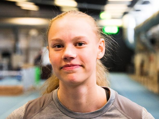 Saga Vanninen voitti kultaa nuorten olympiafestivaaleilla.