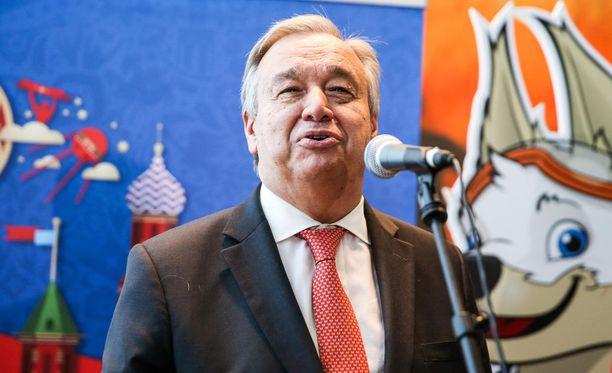 YK:n pääsihteeri Guterres saapuu vieraaksi presidentti Niinistön isännöimiin Kultaranta-keskusteluihin Naantaliin.