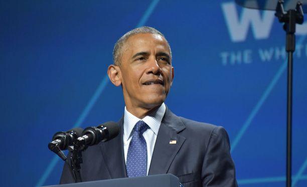 Myös presidentti Obama puhui huippukokouksessa naisten oikeuksien puolesta.