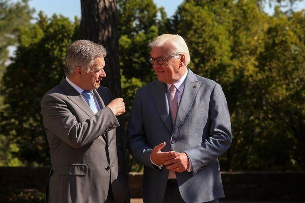 Päävieraana Kultaranta-keskusteluissa on tänä vuonna on Saksan liittopresidentti Frank-Walter Steinmeier.