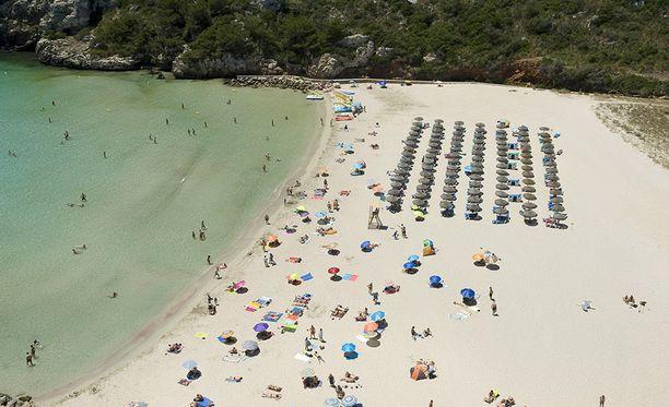 Kuva Mallorcan saarelta Menorcalta.