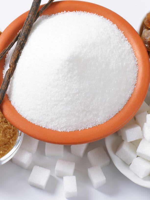 Sokeri on makea myrkky, jos sitä syödään tolkuttomasti.
