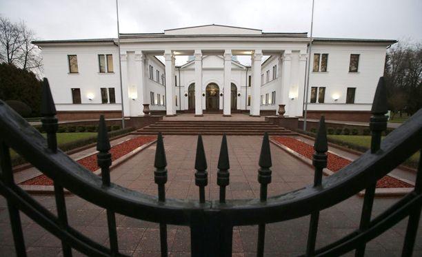 Neuvottelut käydään Valko-Venäjän presidentin asunnolla.