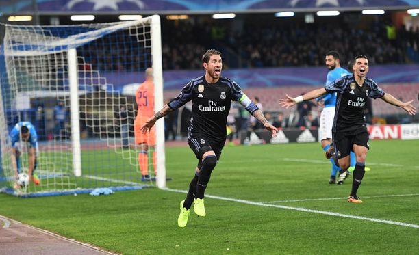 Sergio Ramos oli Real Madridin sankari.